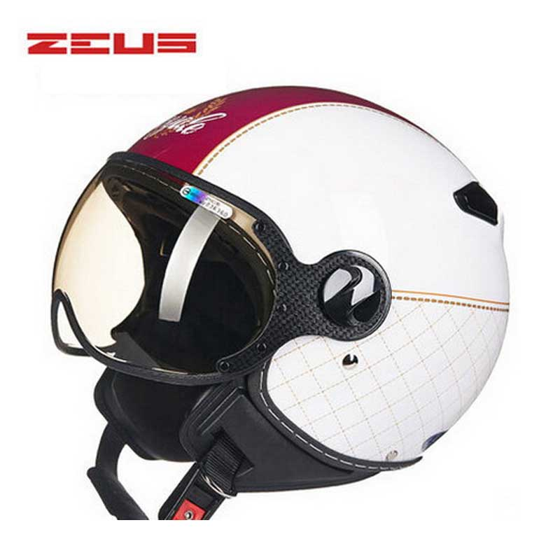 DOT Lovers Crown ZEUS 3/4 open face motorcycle helmet for ...