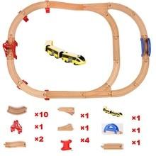 Standard Train Set Wooden Railway TrackMaster Toys Track Accessories - Expansion Brio