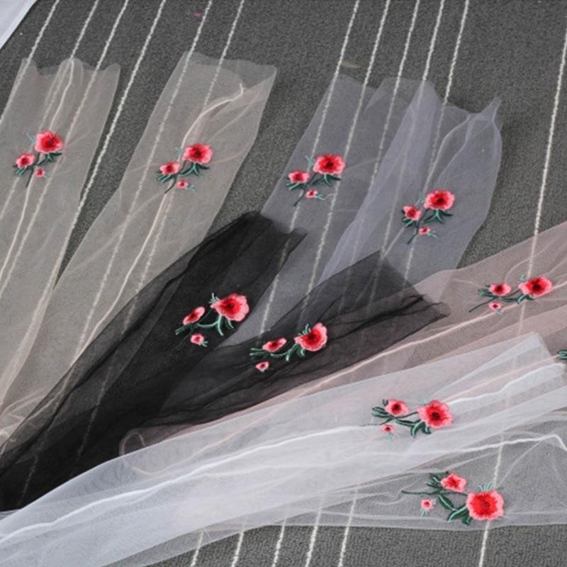 1 Pair New Summer Women Transparent Socks Glitter Crystal Glass Silk Beautiful Shiny Elastic Rose embroidery Socks