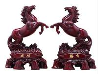horse Horse ornament Achieve immediate victory Home living room wine cabinet decoration Successful Tengfei Office