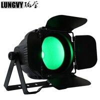 Free Shipping Cob 200W 6In1 RGBWA UV COB LED Par DMX Stage Light LED PAR Stage Lighting For Theater