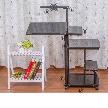2018 DesktoFoldable Computer Table Adjustable Portable