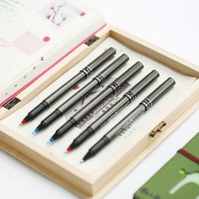 High Quality Japanese Roller Ball Gel Pen 0.5mm Blue Black Red Color Pen,Office&School Gel Pens For Writing black new arrival ballpoint pen and bag metal school office supplies roller ball pens high quality business gift 003