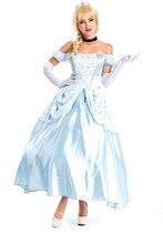 Ensen noble princesa palacio europeo queen fantasia adulto disfraces blancanieves sexy dress de halloween cosplay para las mujeres