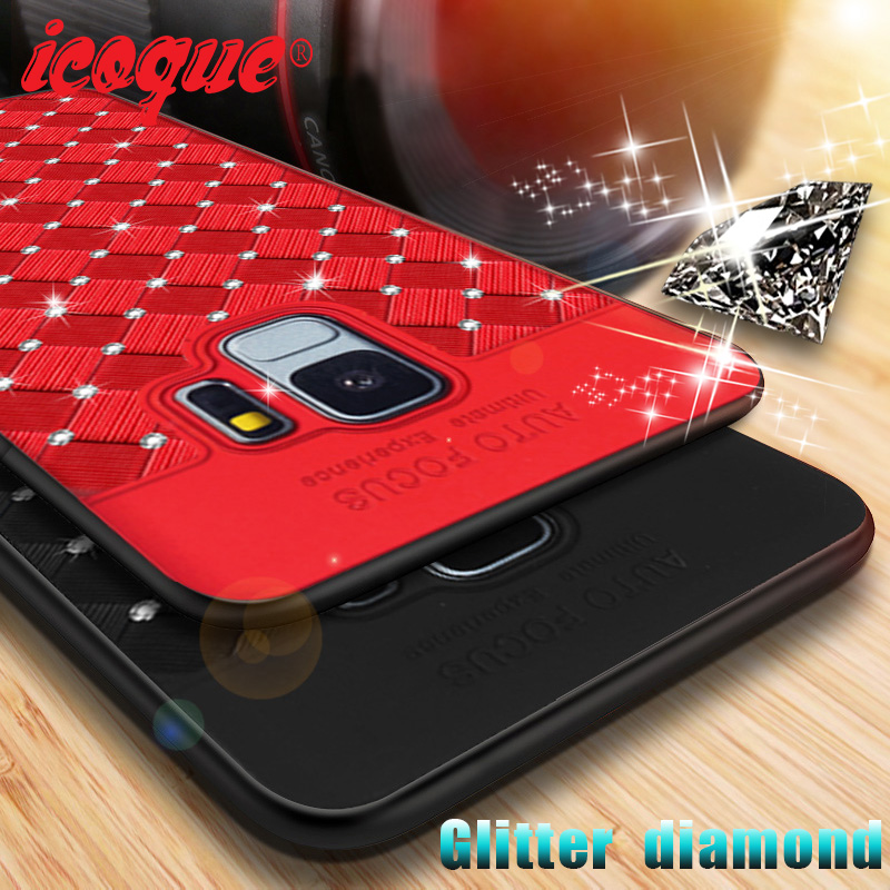 Glitter-Case S8-Plus Samsung J4 J2 Prime Note 9 For Galaxy J6 J8 A6 S9 J5 A50-S10 J7