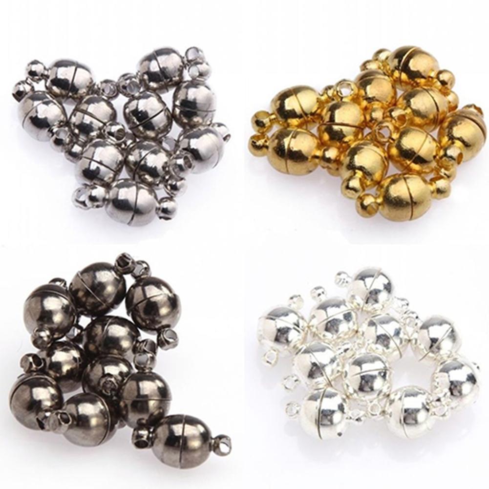 105.62руб. 34% СКИДКА|Круглые магнитные застежки для ожерелий, 10 шт., 6 мм/8 мм|Ювелирная фурнитура и компоненты| |  - AliExpress