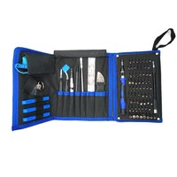 82 in 1 Mobile Phone Precision Repair Tools Set Bag with tweezers/Opening Kit/Screwdriver for iPhone 6s 5s for iPad 4
