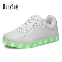 Led Light Shoes Led Luminous Shoes Man 2016 Hot Women Casual Shoes Led Shoes For Adults