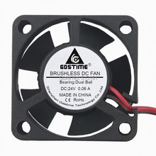 Gdstime 3010 24V 2Pin Ball Bearing 3CM 30mm 30x30x10mm Mini DC Brushless Cooling Fan