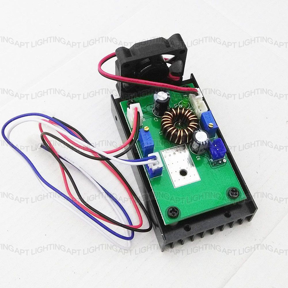 Lazer sürücüsü lazer başlığı 532nm board 650nm 450nm 200mW 500mw 1W / 2W / 2.5W / 5W / 5.5W mavi lazer modulu 12V / TTL / PWM istilik qurğusu