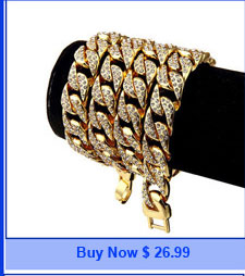 Модный мужской браслет с цепочкой в стиле хип хоп полностью