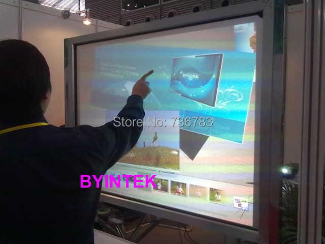 شاشة عرض للبروجكتور من أفلام معدنية لاصقة للعروض ثلاثية الأبعاد والهولوجرام للمحلات والفنادق والشركات  Hologram holographic rear adhesive film projection 3D projector screen