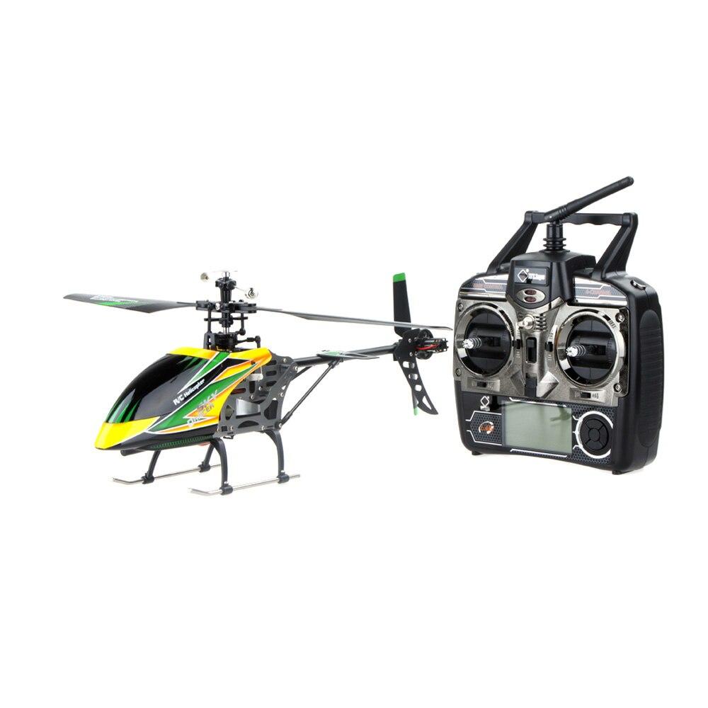 100% Оригинальные V912 большой 4CH одним лезвием вертолет 2,4 ГГц радио Системы RC самолет с режим 2 универсальный передатчик