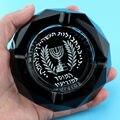 Agente especial Spy Fun Paródia da Inteligência Militar Israelense Mossad Israel Criativo Homem Cinzeiro de Cristal de Fumar Presente Para Namorado