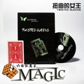 Twisted Queens sansminds props comedy,mental close-up stage street floating magic tricks products toys