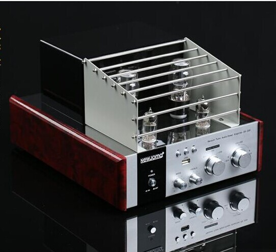 New Jamo ES-339 Hifi 2.0 Tube Vacuum Amplifier USB Home Audio Subwoofer Output Amplifier 35W+35W 220V jamo c97