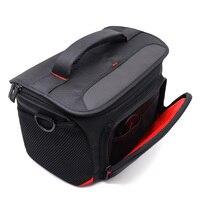 Nylon Camera Bag Case For DSLR Canon EOS 5D Mark IV III II 5DS 5DSR 6D 6D Mark II 50D 60D 77D 7D MarkII 80D 800D 760D 2 3 Lens