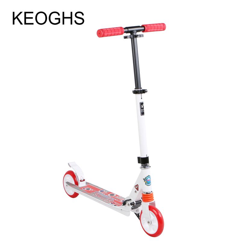 adult scooter foldable PU 2wheels glow child outdoor sport for baby bodybuilding all aluminum urban campus transportation