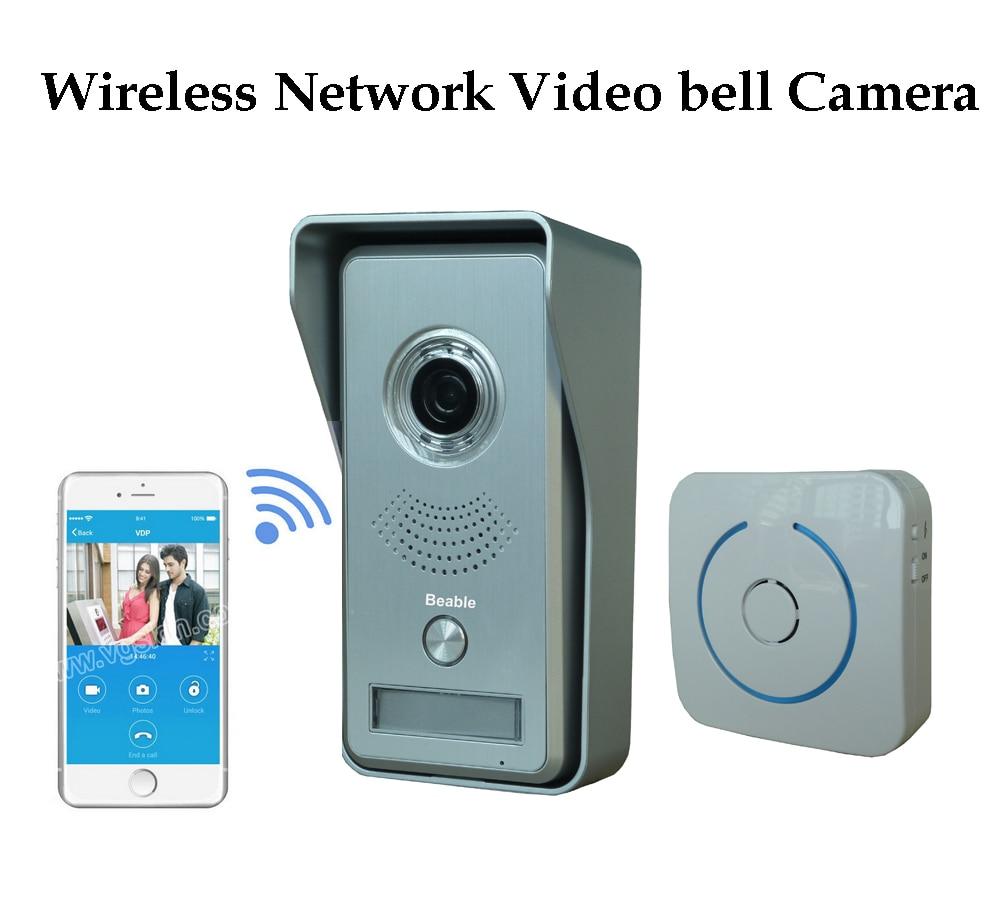 ФОТО Mobile Remote Unclock 720P HD Network Wireless Camera Intercam Video Door Camera WIFI with SUB bell