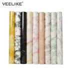Waterproof PVC Vinyl Shelf Liner Marble Contact Paper for Kitchen Countertops Bathroom Self adhesive Wallpaper Home Decoration