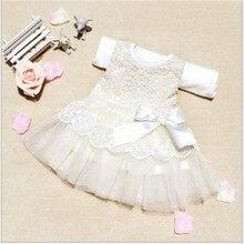2018 children's wear Summer 0-2 years old foreign trade original Korean infant girl bow dress