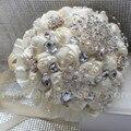 Высокое Качество Потрясающие Алмаз Кот Свадебный Букет Прочного Удержания Цветы Кристалл Брошь Жемчуг Свадебные Букеты multi-стили