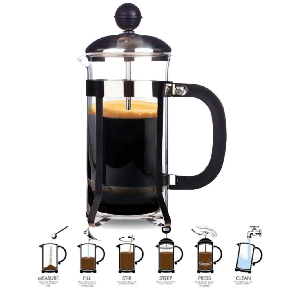 French press coffee maker 1