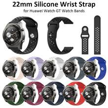 22mm Smart Armband Siliconen Horloge Strap Vervanging Polsband Voor Huawei Horloge GT/2 Pro/Honor Horloge Magic horloge Accessoires(China)