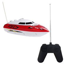 New Fashion 10 inch RC Boat Radio Remote Control RTR Electric Dual Motor Toy Birthday Gift For Children Toys Wholesale