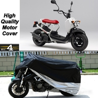 MotorCycle Cover For Honda Zoomer WaterProof UV / Sun / Dust / Rain Protector Cover Made of Polyester Taffeta