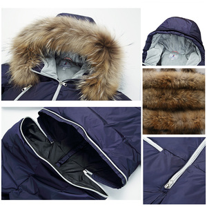 Image 4 - 年長の子供新しいファッションウォームシャムダウンジャケット 3