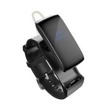 Smarcent talkband DF22 Фитнес трекер Bluetooth SmartBand браслет Спорт Смарт Группа сна Мониторы для Android IPhone