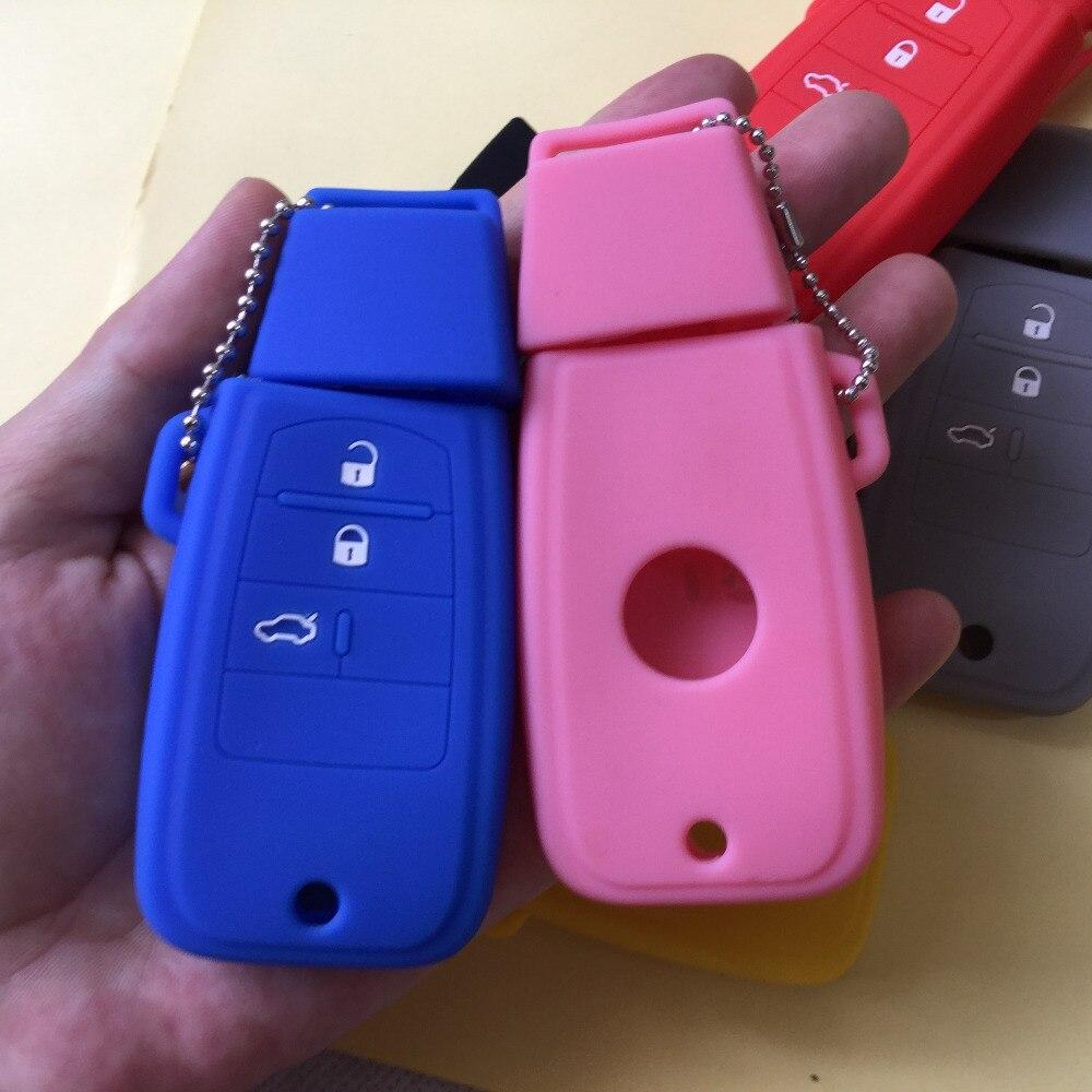 Fiat 3 pulsanti Silicone Custodia di protezione chiave