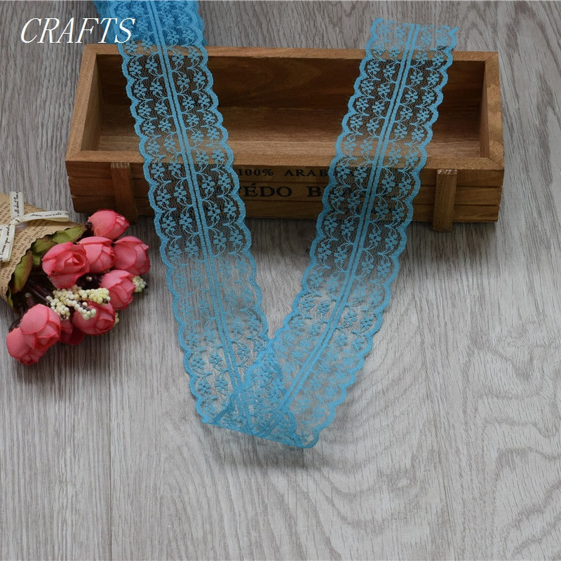 HTB1Ud0IgMfH8KJjy1zcq6ATzpXa5 New! 10 yards of beautiful lace ribbon, 4.5 cm wide, DIY Clothing / Accessories / floral accessories, etc.
