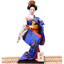 home decoration accessories feng shui crafts japanese geisha dolls Crafts