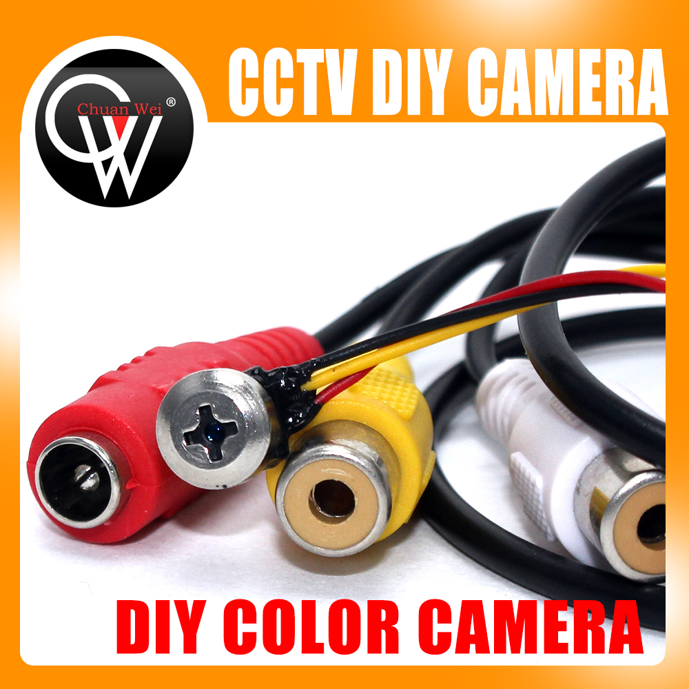2.0MP DIY Wired Camera Home Security System Color Monitor Micro Monochrome CMOS Camera micro camera compact telephoto camera bag black olive