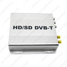 Цифровой Двойной Тюнер Автомобиль HD H.264 MPEG-4 HD/SD Различных Канала DVB-T Приемник Мобильного КОРОБКА DVB-T С PVR USB HDMI # J-2915