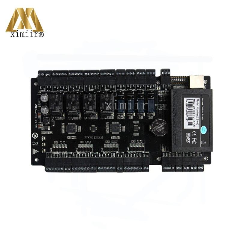 Venda quente Do Painel de Controle de Acesso ZK Para Quatro Portas C3-400 Painel Controlador de Placa de Controle Da Porta de Acesso Ao Cartão