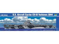 1pcs Action Figures Kids Gift Collection For Trumpeter 1/350 05603 Uss Cv 10 Yorktown 1944 Static Warship Model Kit