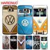 HAMEINUO VOLKSWAGEN VW Mini Bus cell phone case cover for Samsung Galaxy S7 edge PLUS S8 S6 S5 S4 S3 MINI