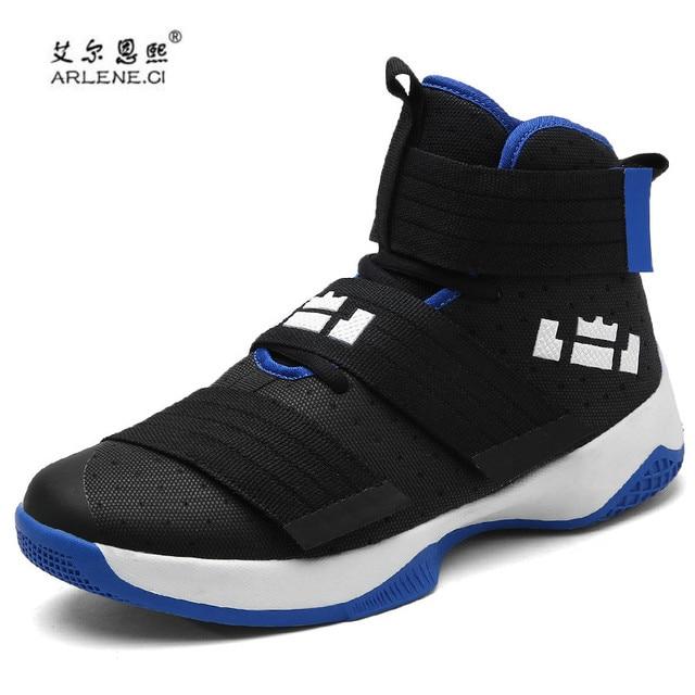 03941836 2018 zapatos de baloncesto profesional Lebron James High Top gimnasio  entrenador botas botines al aire libre