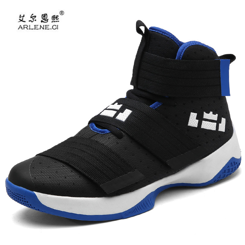2019 Professional <font><b>Basketball</b></font> Shoes Lebron James High Top Gym Trainer Boots Ankle Boots Outdoor <font><b>Men</b></font> <font><b>Sneakers</b></font> Athletic Sport Shoes image