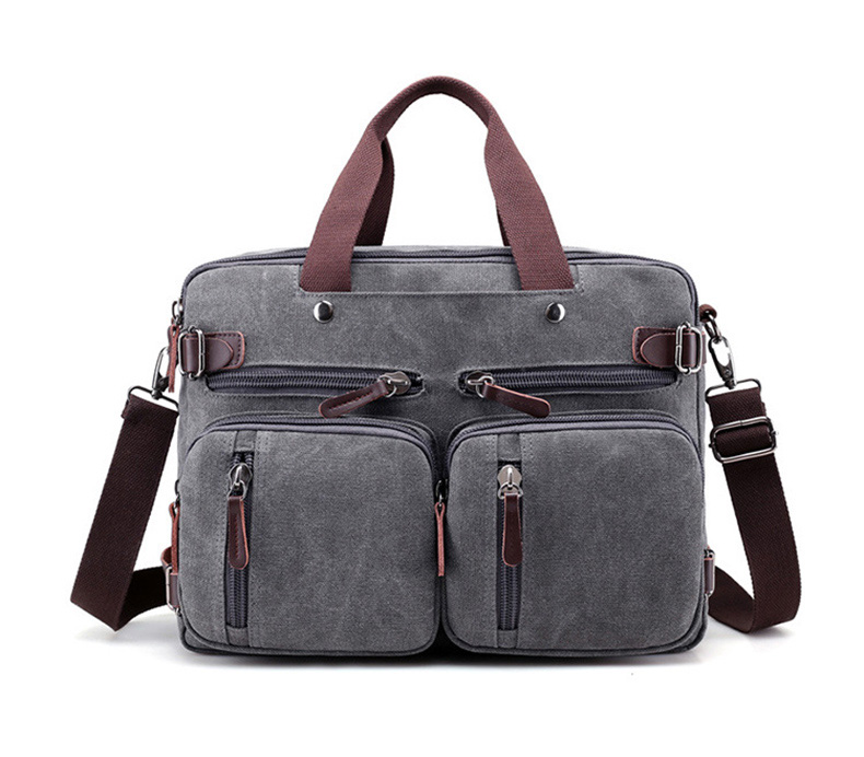 HTB1Ud1NaPnuK1RkSmFPq6AuzFXa5 Men Canvas Briefcase Business Laptop Handbag Large Messenger Shoulder Bag Big Casual Male Tote Back Bags Travel Suitcase XA162ZC