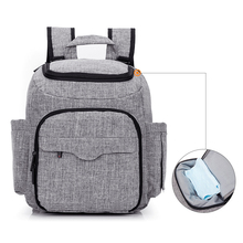 New multi-function diaper bag shoulder Mummy baby bottle insulation package wet and dry separation urine business