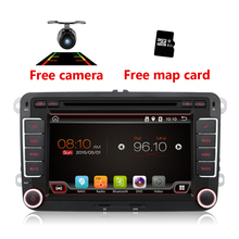 Quad Core CPU 2 din Android 6.0 Car DVD GPS Radio stereo Dla VW PASSAT B6 golf 5 6 t5 caddy passat jetta MK5 MK6 polo tiguan