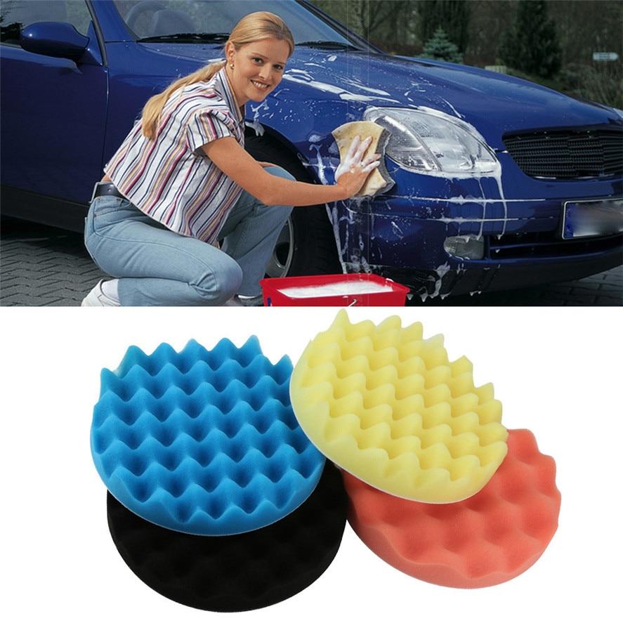 Dropship Hot Selling 4pcs 7inch Car Polishing Wash Brush