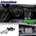 Liandlee Автомобильный задний Интерфейс камеры декодер адаптера наборы для Volvo V60 S60 Sensus обновления системы