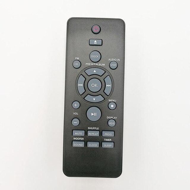 Comando à distância original novo para philips dcm2068 dcm2260 dcm3175 dcm1170 dcm3155 dcm3260 dcm3260w dtm3155 mini sistema de música