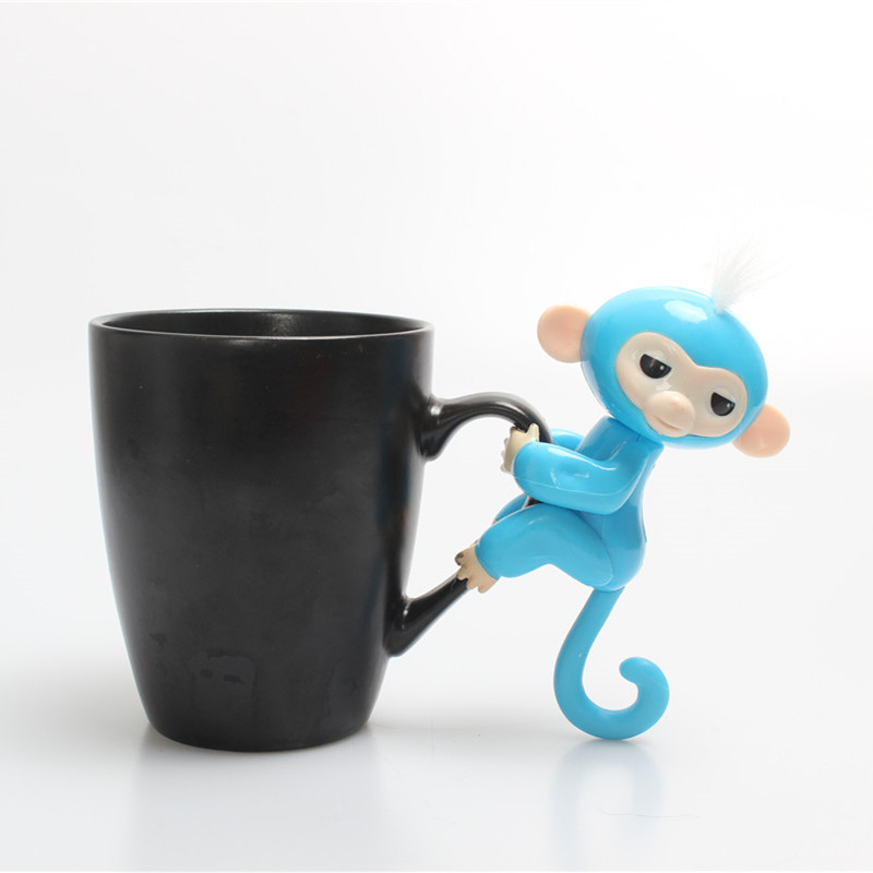 13cm New Finger Child Toy Finger Monkey Christmas Gift Kid Colorful Finger Monkey Kawaii Pet Toys For Children