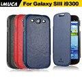 Para Samsung Galaxy S3 i9300 GT-i9300 Caso verticl Virar Capa Couro PU para Samsung Galaxy S3 casos de telefone móvel
